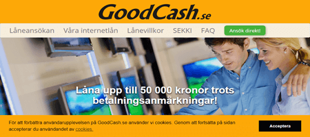 Sms lån GoodCash